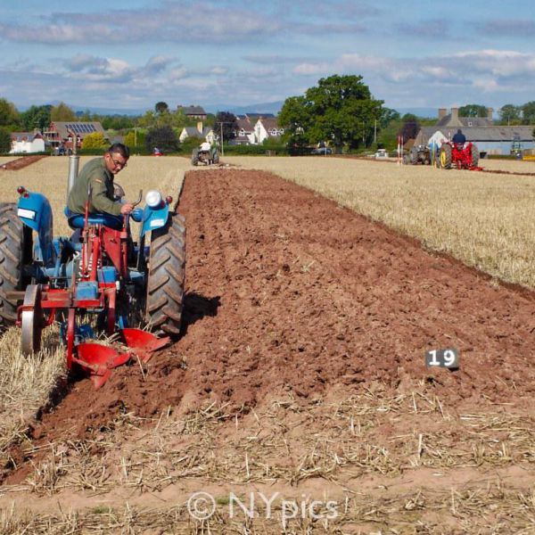 Ploughing Competition In Monmouthshire