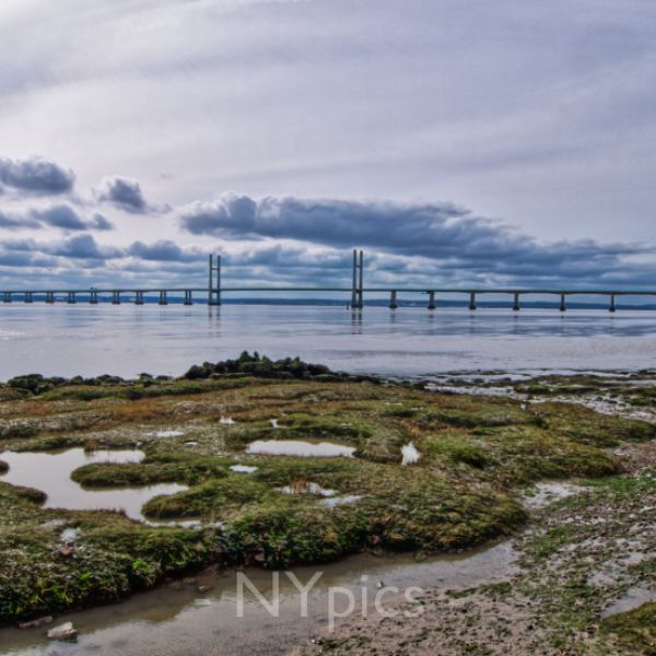 The Second Severn Crossing Viewed From Black Rock