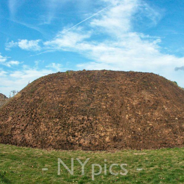 The Norman Castle Mound Caerwent