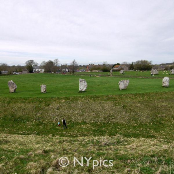 The South West Sector And Henge Avebury