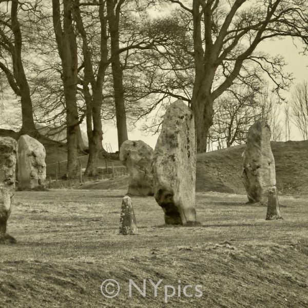 Standing Stones Avebury The South West Sector