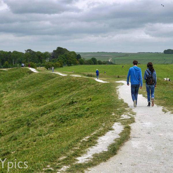 Avebury, Part Of The Henge