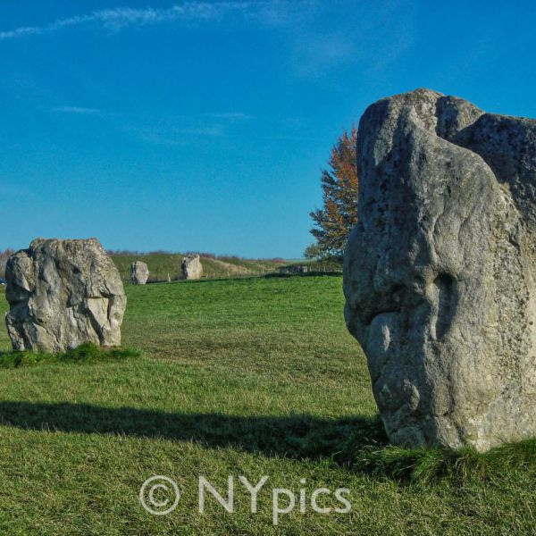 The Outer Circle Of Stones Avebury