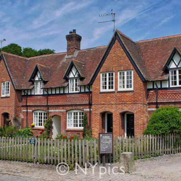 Row Of Cottages Avebury