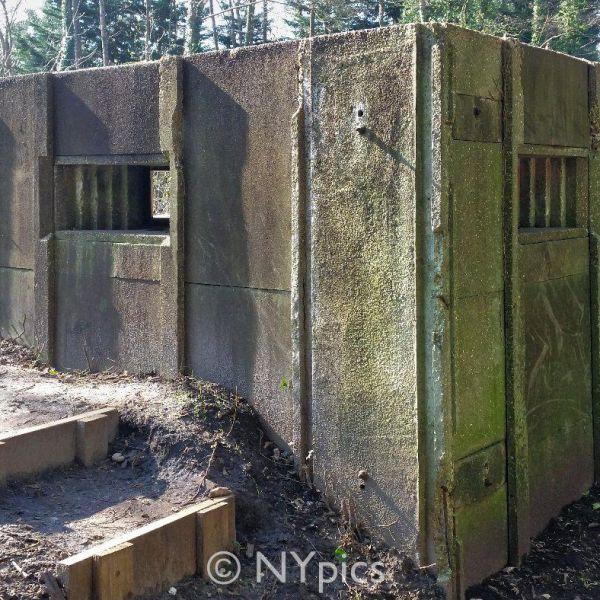 WW2 Pillbox Near The Canal At Brookwood, Surrey
