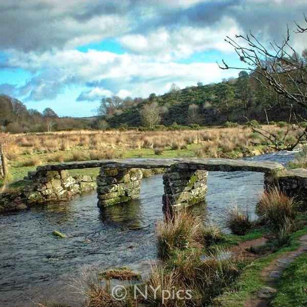 Clapper Bridge, Postbridge, Dartmoor
