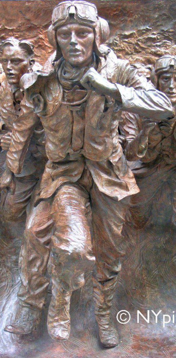 The Battle of Britain Monument, London