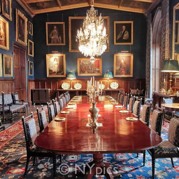 The Dining Room, Eastnor Castle