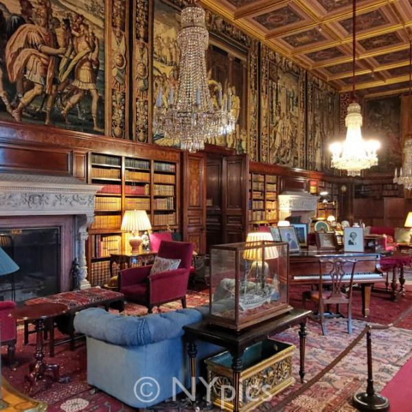 The Library, Eastnor Castle
