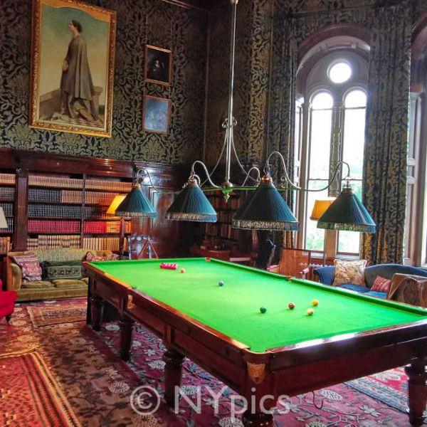 The Billiard Room, Eastnor Castle