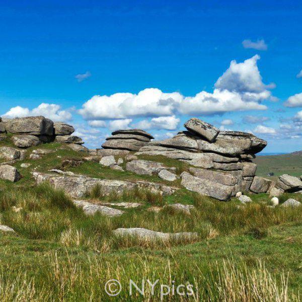 A Tor on Dartmoor