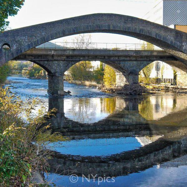 The Old Bridge Over The River Taff, Pontypridd