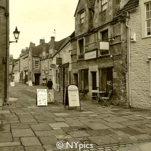 The Market Town Of Corsham, Wiltshire