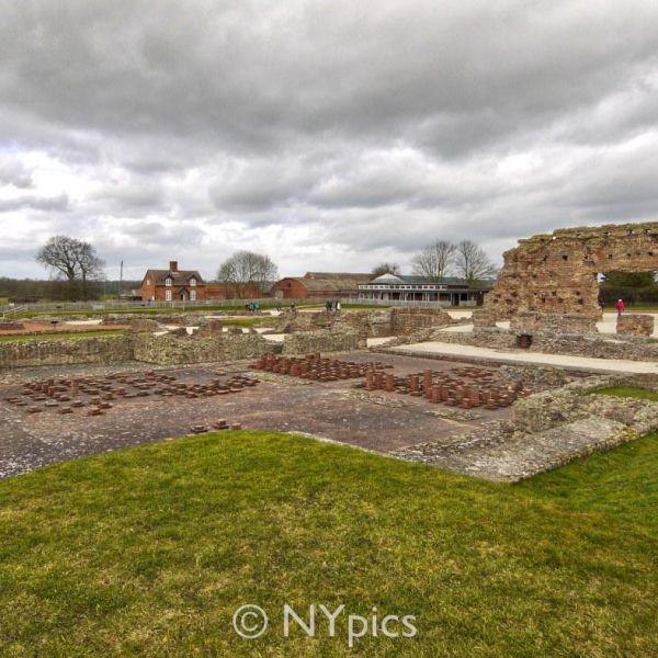 Roman Remains At Wroxeter