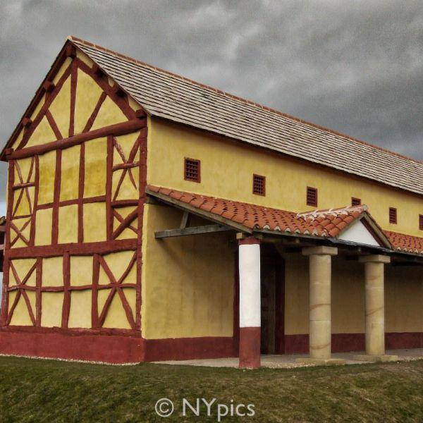 Reconstructed Roman Villa At Wroxeter.