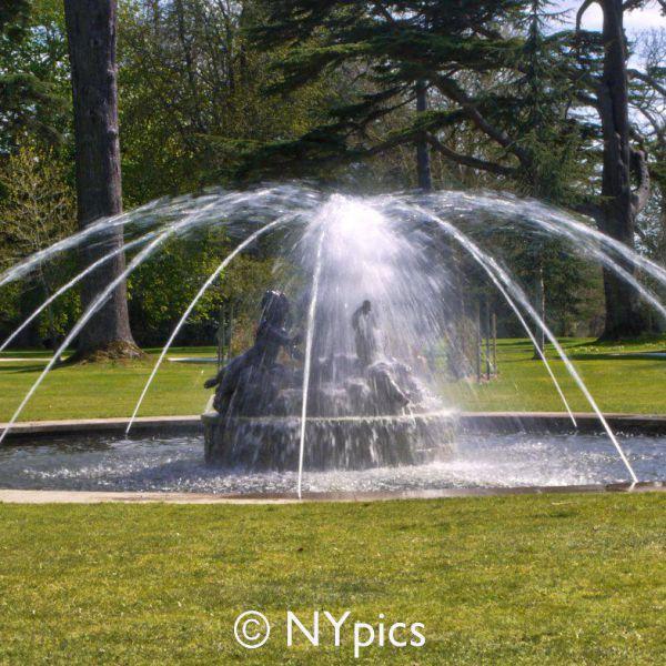 Fountain In Blenheim Palace Garden