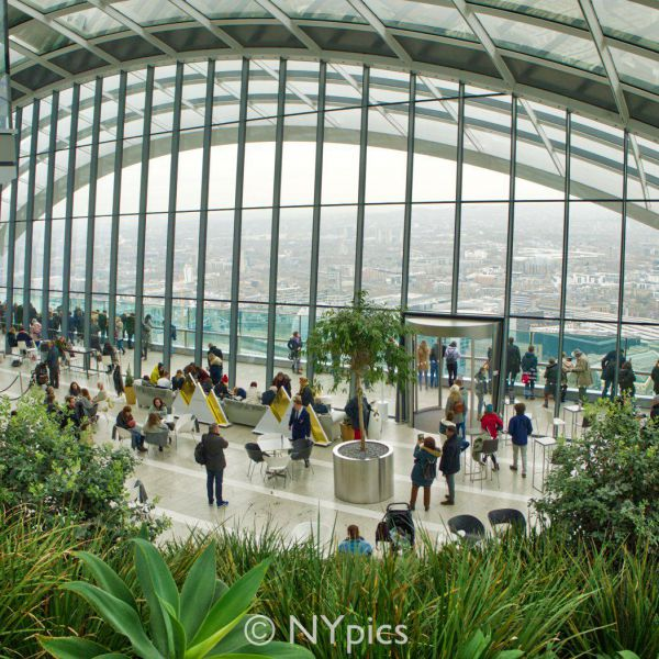 Inside The Top Of 20 Fenchurch Street, London