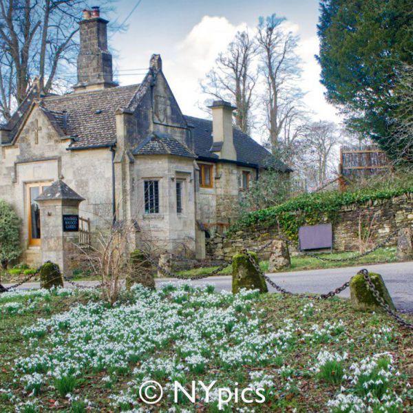 Gatehouse, Painswick Rococo Garden
