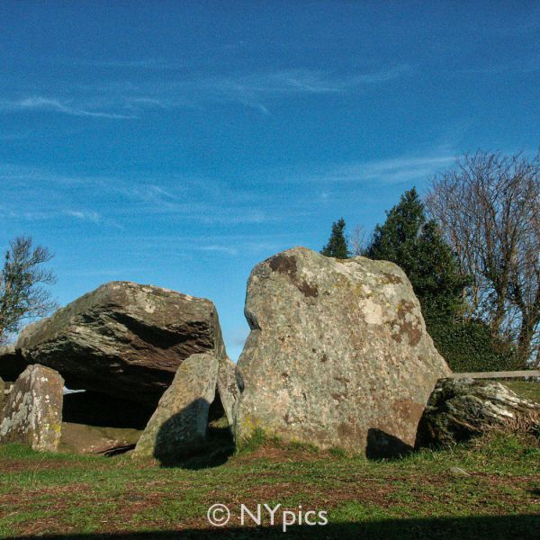 Neolithic Burial Chamber Known As Arthur's Stone