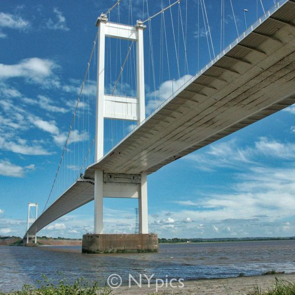 The 'Old Severn Bridge' Viewed From The Welsh End
