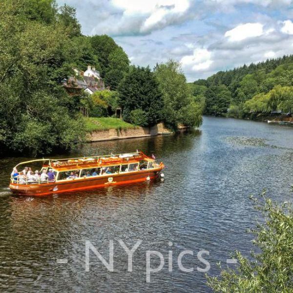 On The River Wye, Symonds Yat