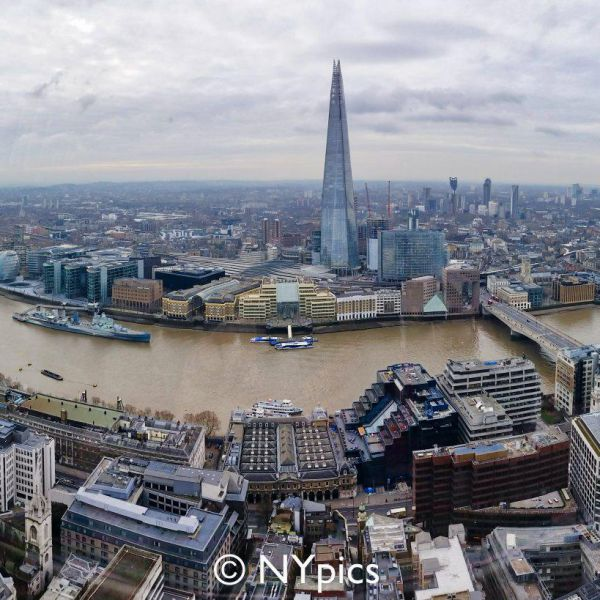 View From 20 Fenchurch Street, London