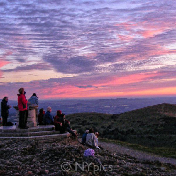 Waiting For Sunrise, Midsummer, Worcester Beacon, Malvern Hills