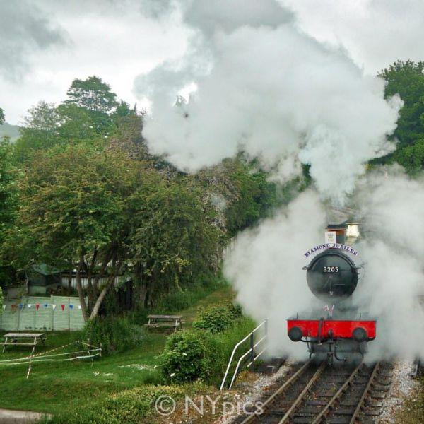 The South Devon Railway Celebrates Its Diamond Jubilee