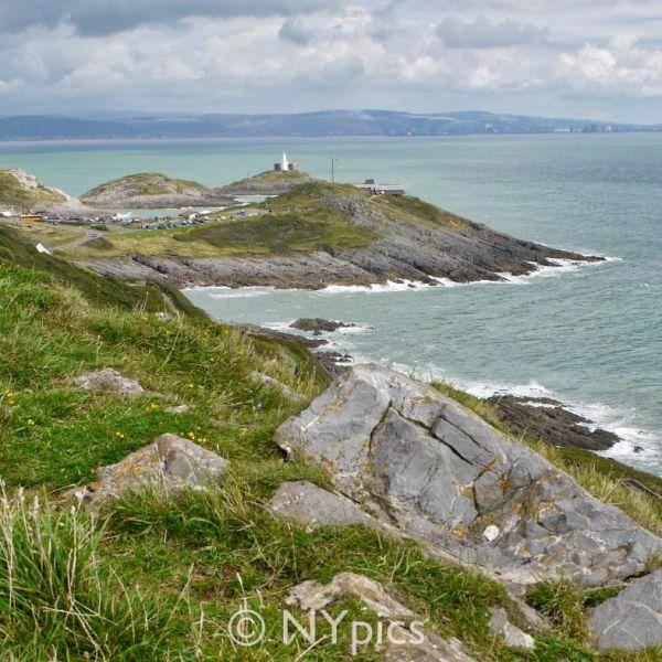 On The Wales Coast Path Swansea