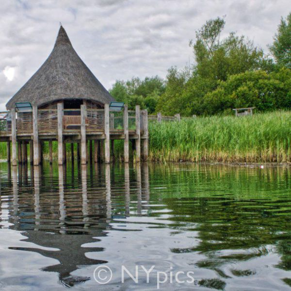 Crannog Roundhouse at Llangorse Lake