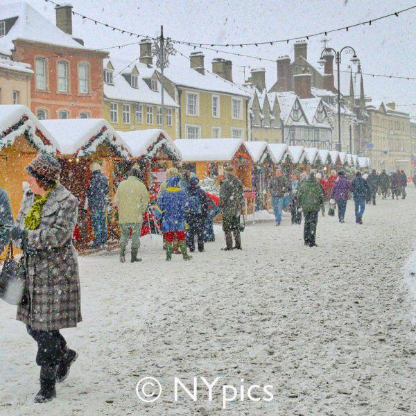 Christmas Market, Cirencester