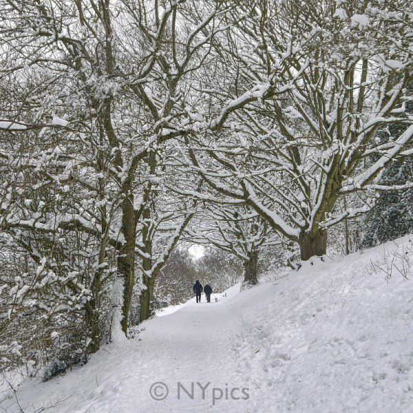 Snow On The Malvern Hills.