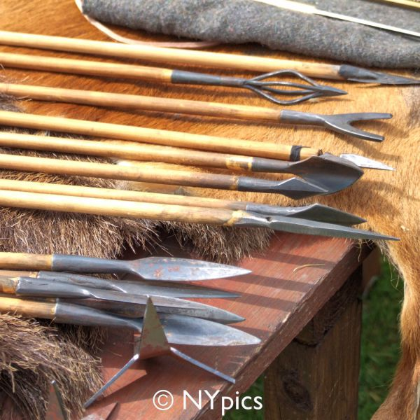 A Selection Of Arrows As Used By Roman Archers